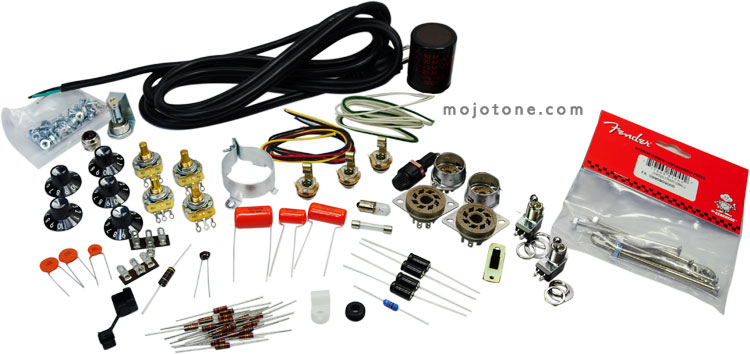 Blackface Vibro Champ® Style Small Parts Kit