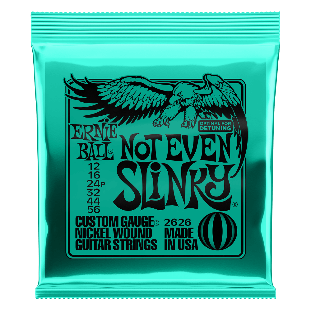 NOT EVEN SLINKY NICKEL WOUND ELECTRIC GUITAR STRINGS - 12-56 GAUGE