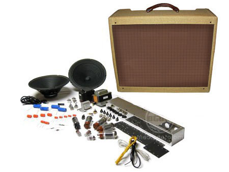 Tweed Twin 5E8-A Low Power Style Combo Amp Kit