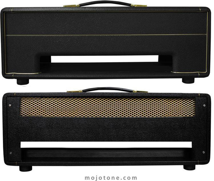 british style large box guitar amplifier head cabinet. Black Bedroom Furniture Sets. Home Design Ideas