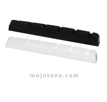 Mojotone  Graphite 6 String Guitar Nut (1-11/16''x 1/8'')