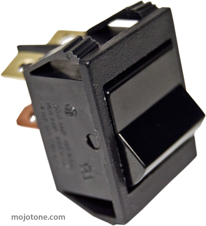 Black Rocker Switch (Replacement for Marshall® Amps)