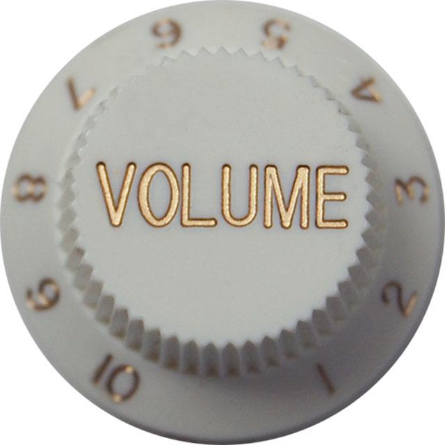 Strat Volume Knob White