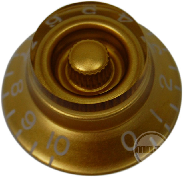 Top Hat Knob (Gold)
