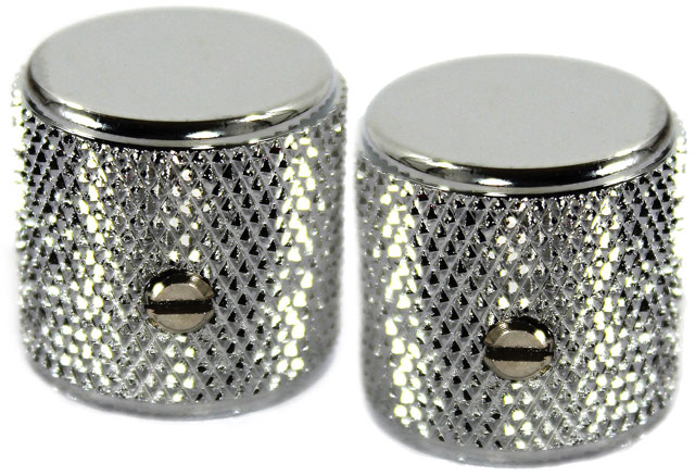 Fender P-Bass/Tele Knob Chrome Guitar Knobs