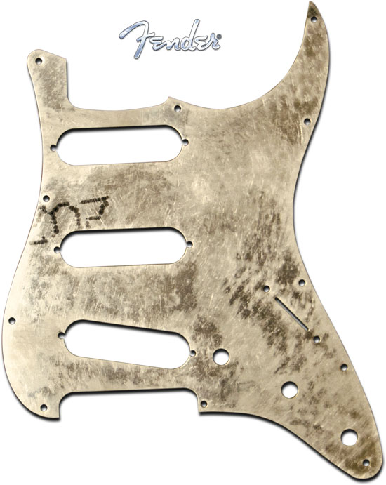 Fender '62 Strat Pickguard Shield Plate