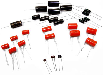 Tweed Bassman Capacitor Kit