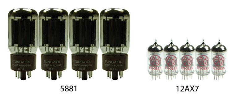 Soldano® SLO-100 Vacuum Tube Kit