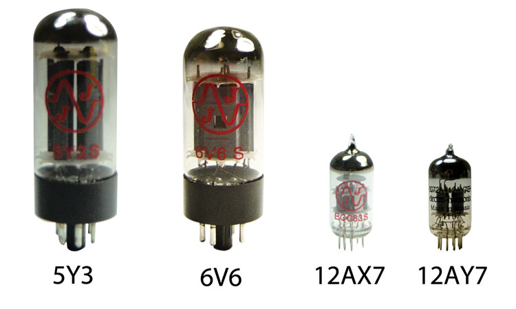 Tweed Deluxe Vacuum Tube Kit