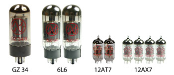 Blackface Super Reverb Vacuum Tube Kit