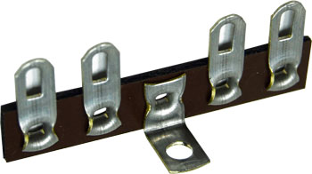 4 Lug Terminal Strip Center Ground
