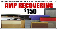 Recover your old amplifier cabinets