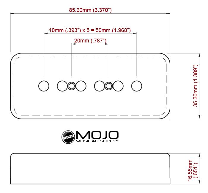 Sensational P 90 Soap Bar Pickup Cover White 50Mm Wiring Digital Resources Timewpwclawcorpcom
